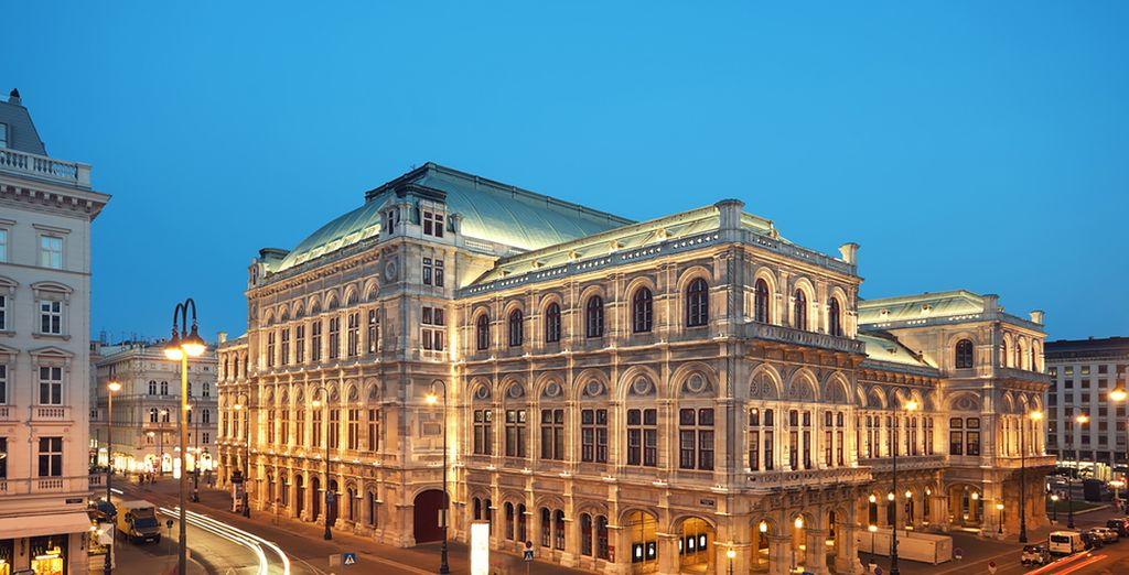 Not far from the Vienna State Opera