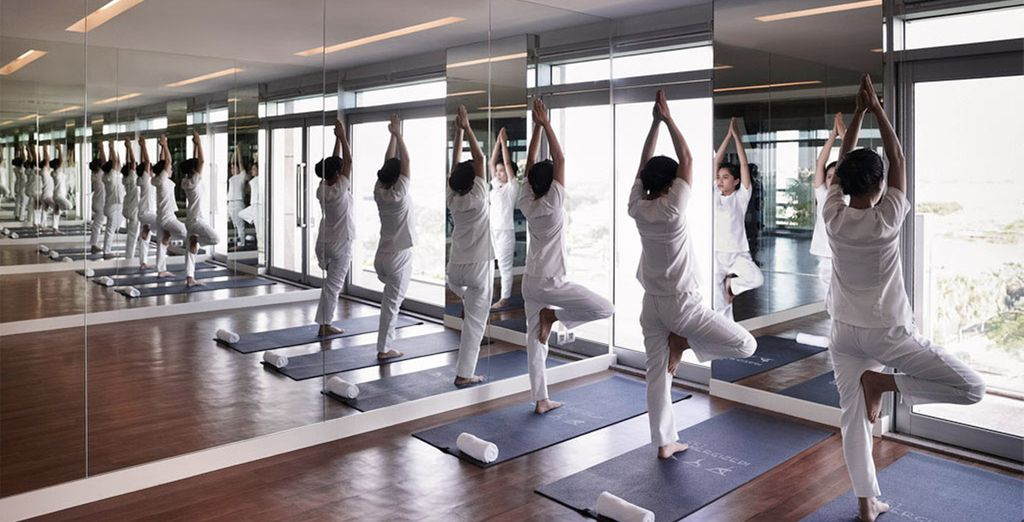 Start your day with a morning yoga session