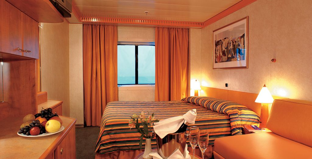 An Outside Stateroom