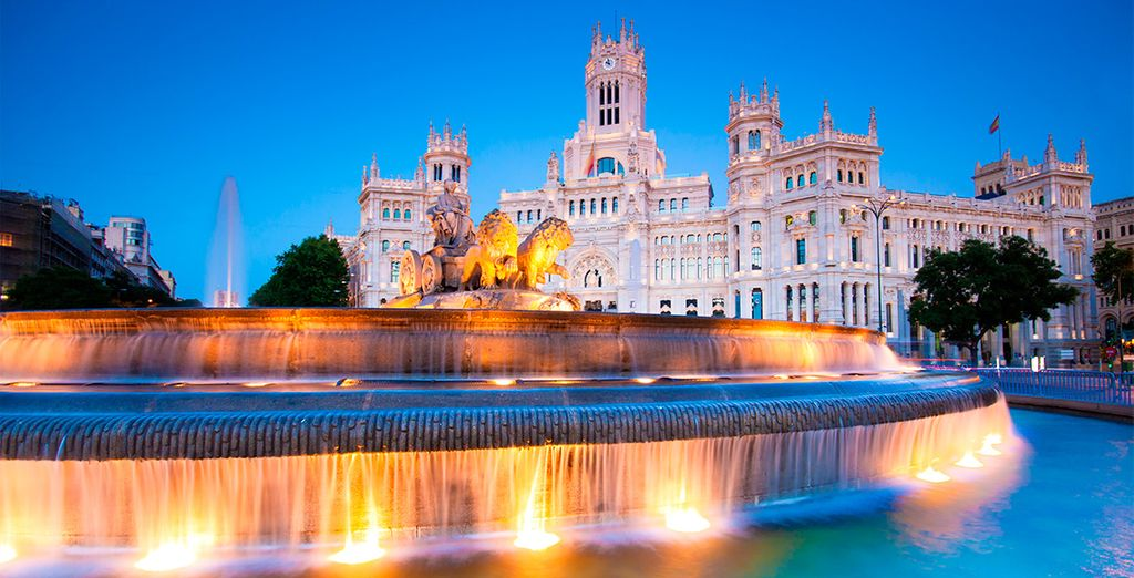 Experience Spain's capital, a beguiling city bursting with life - Hotel NH Madrid Ventas 4* Madrid
