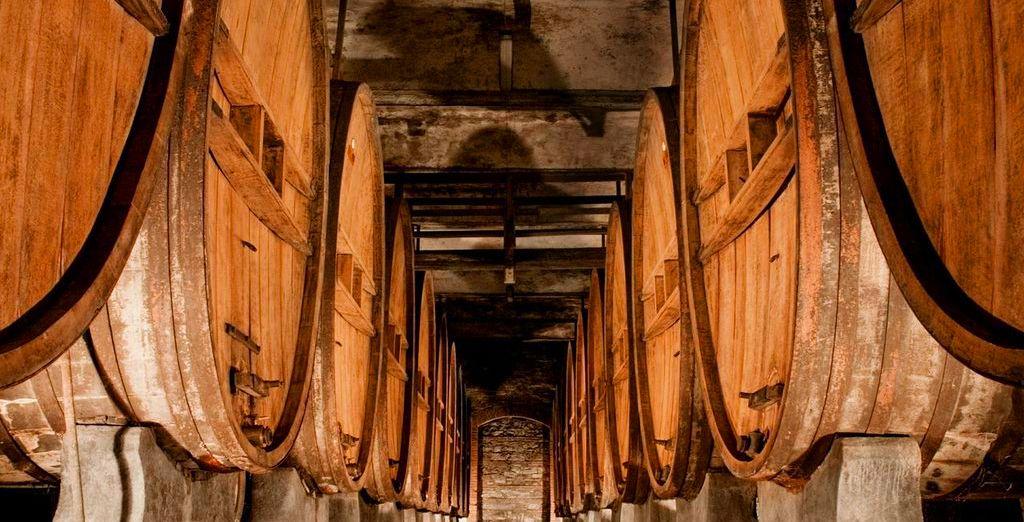 Explore the hotel's wine cellar
