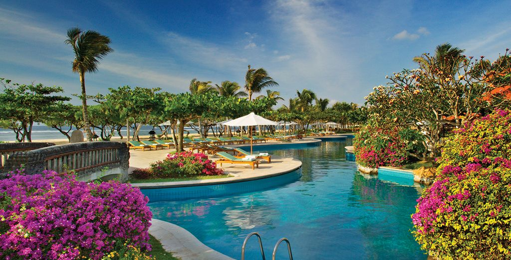 Relax in in tropical paradise