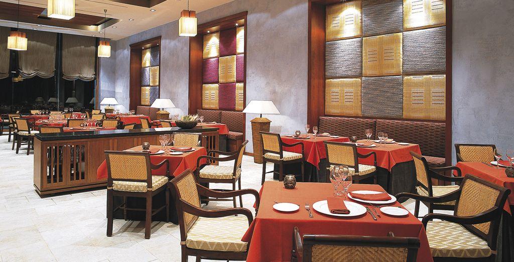 Enjoy modern Canarian cuisine