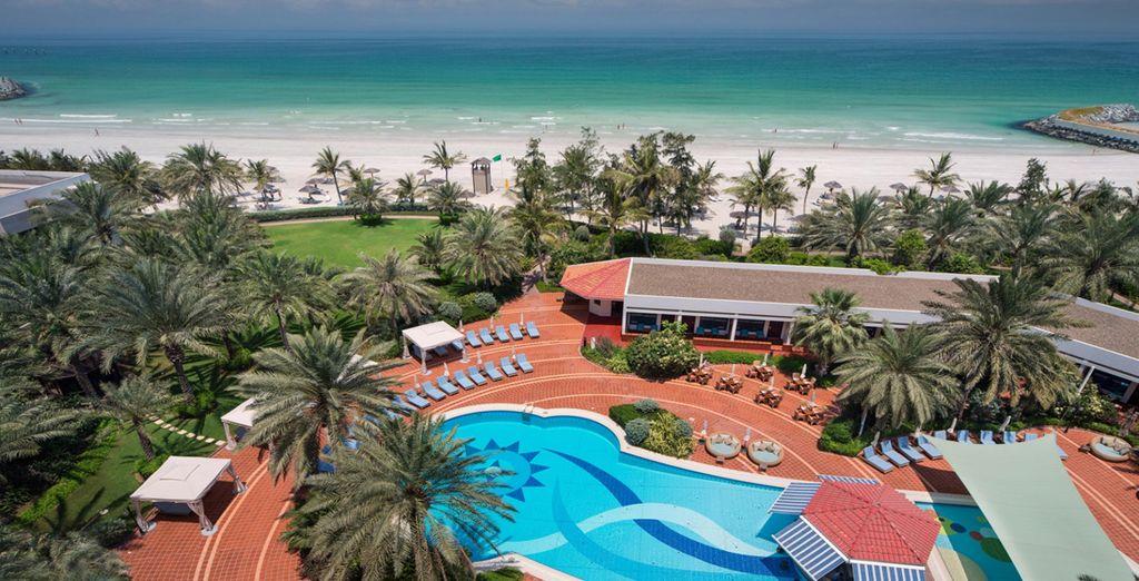 Take in the sweeping views of the Arabian Gulf - Kempinski Hotel Ajman 5* Ajman