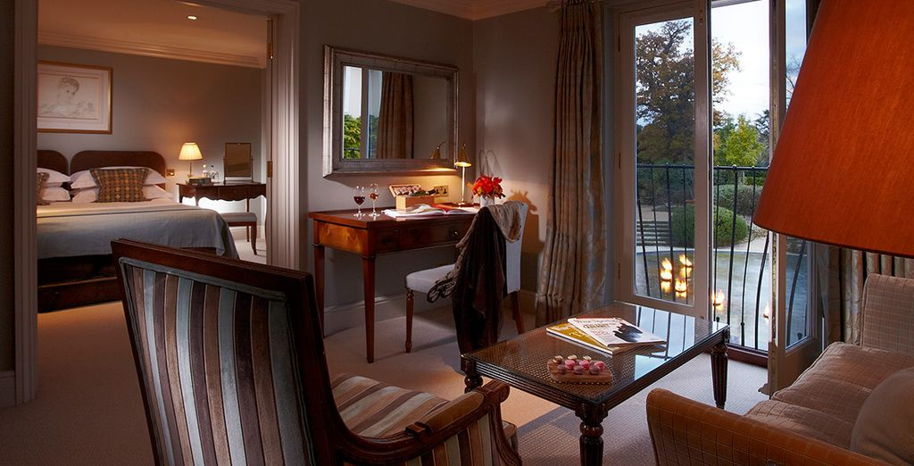 A spacious suite - The Vineyard at Stockcross 5* Berkshire