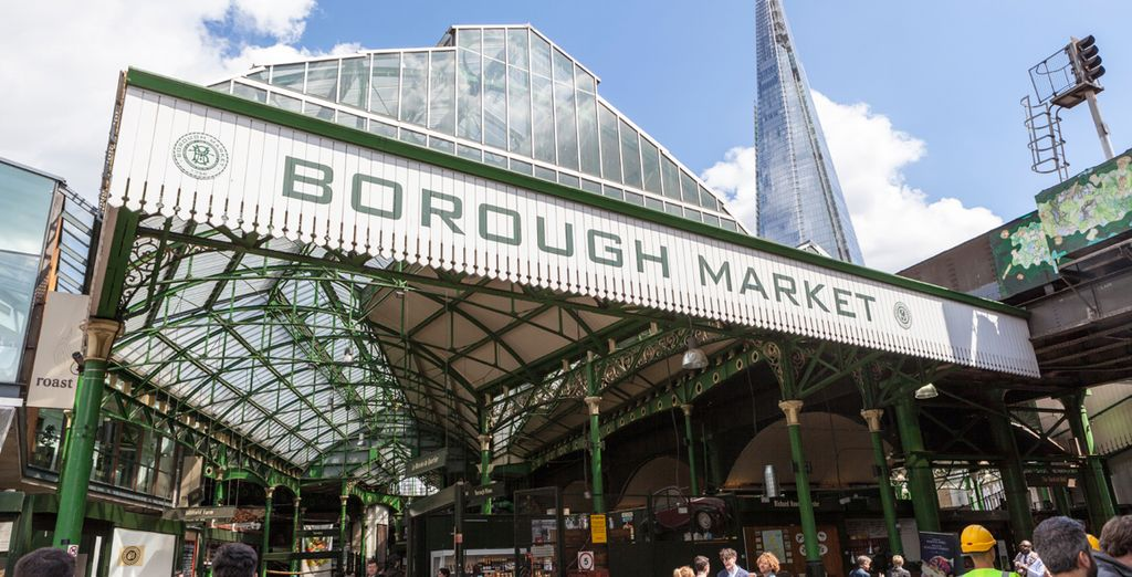 Borough Market is under a 15 min walk away - offering delicious, fresh produce