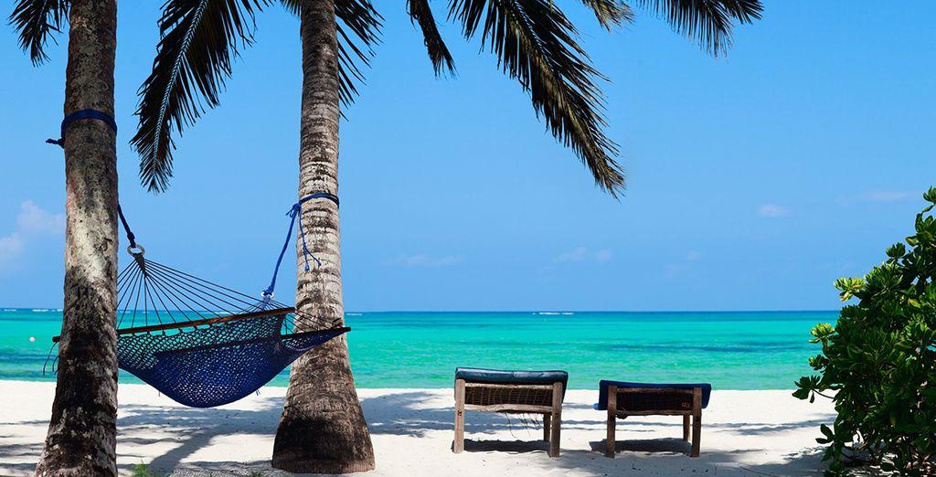 Relax  by the beach in Zanzibar....