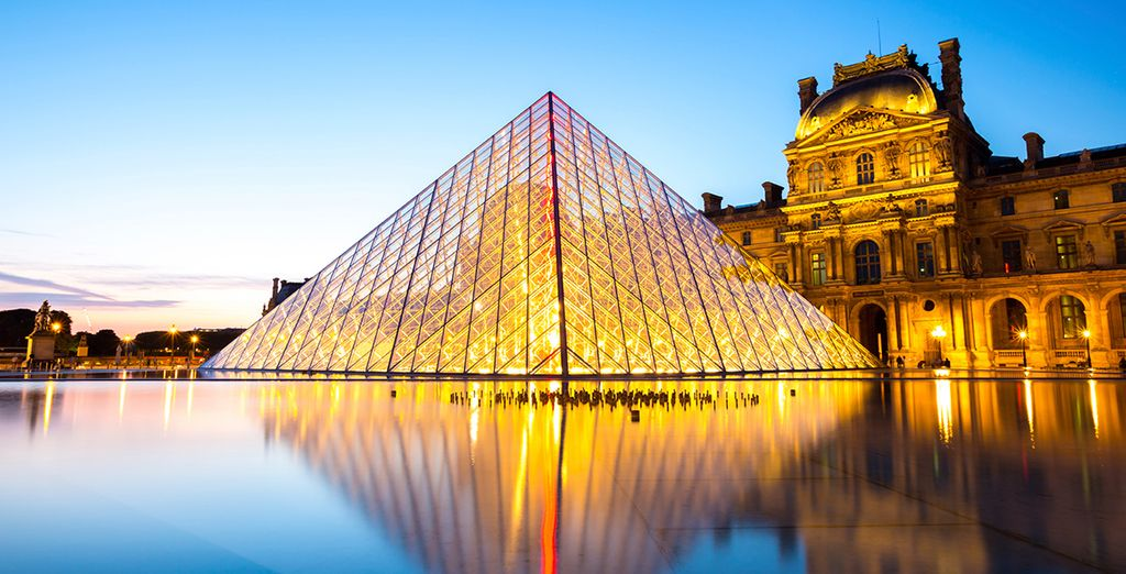To the art of the Louvre