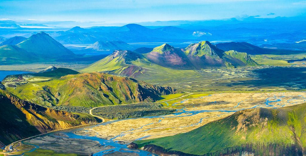 Take to the open road in Iceland...