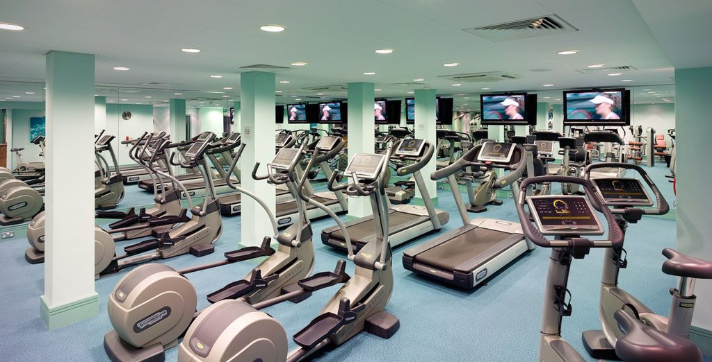 With plenty of facilities to keep you active