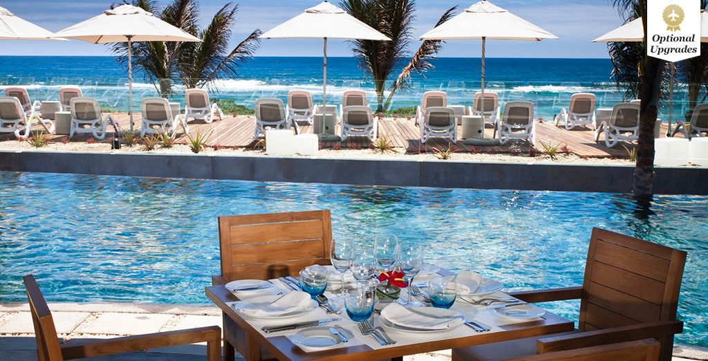 Unwind by the pool