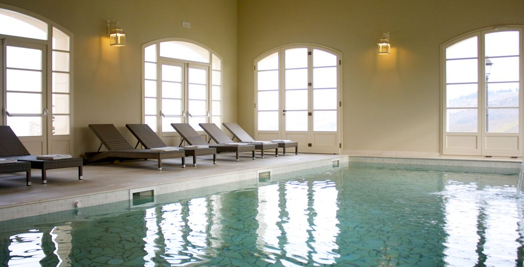 Pamper yourself at the brand new wellness spa