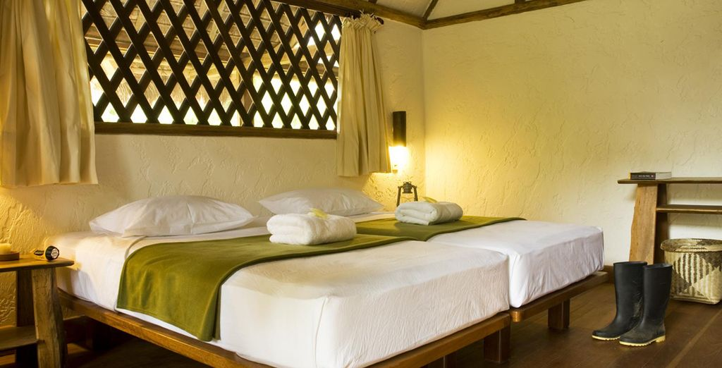 Enjoy comfortable accommodation throughout
