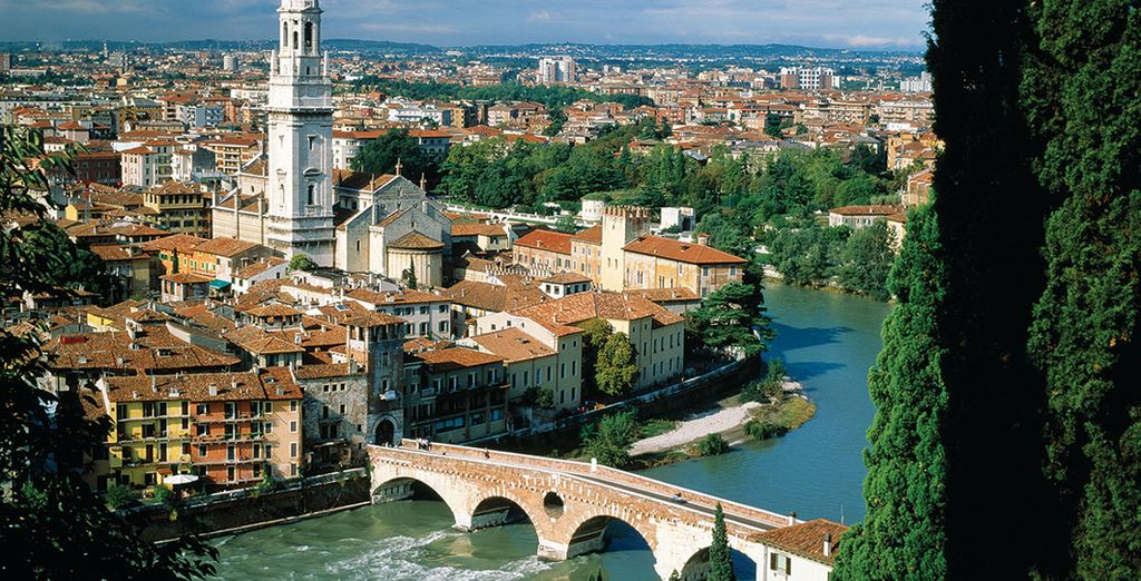Enrich yourself with Shakespeare's city of Verona