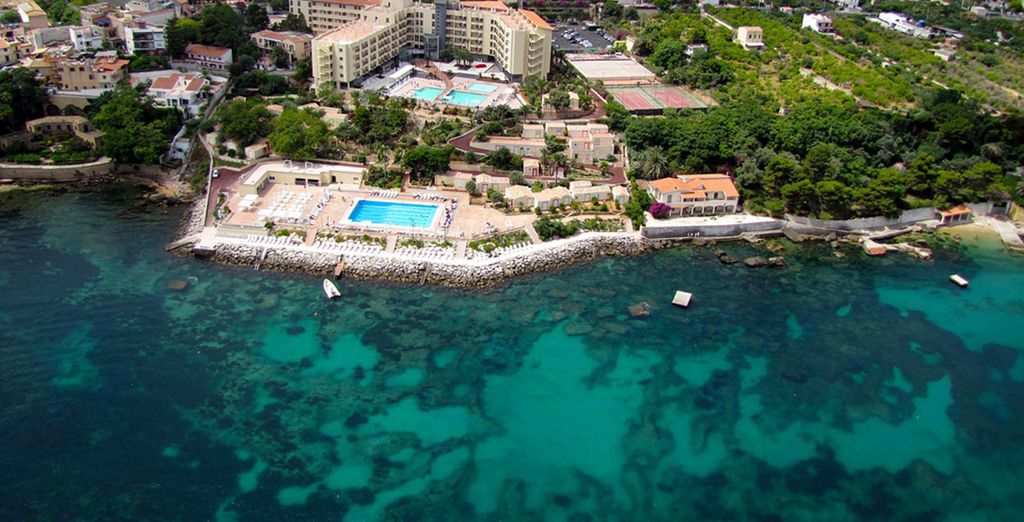 Perched on the edge of the sea - Domina Coral Bay 4* Sicily