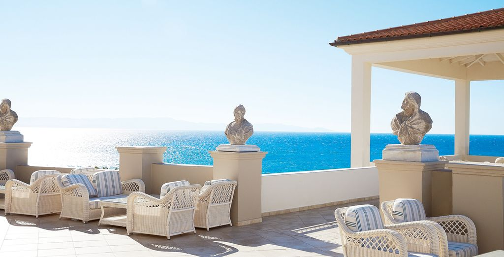 And take in the breathtaking sea views