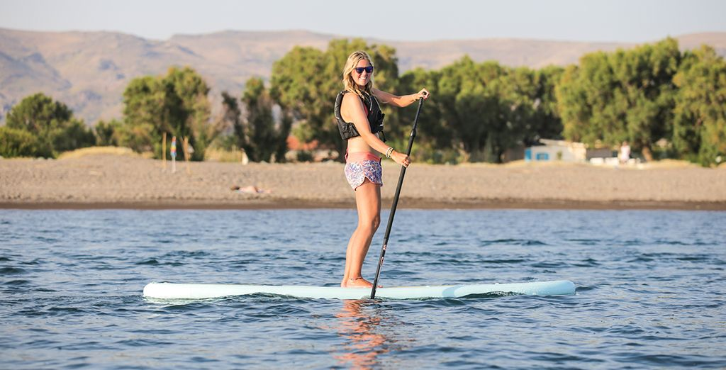 Try Paddle Boarding