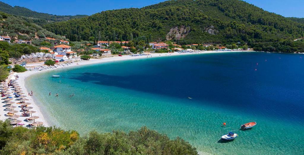 And discover the beautiful island of Skopelos
