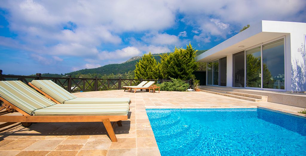 Or just sunbathe the day away (View with a Room)