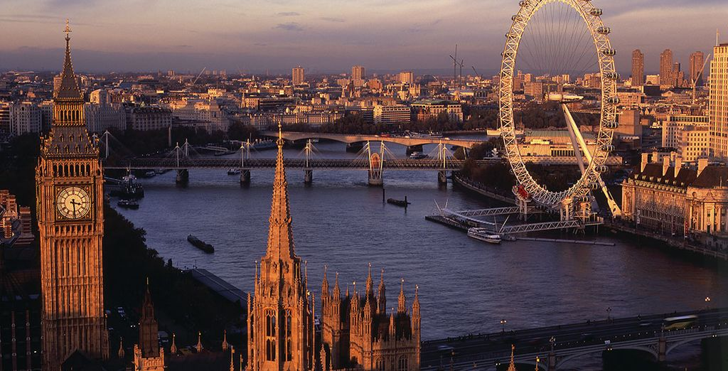 Explore the world-famous sights of London