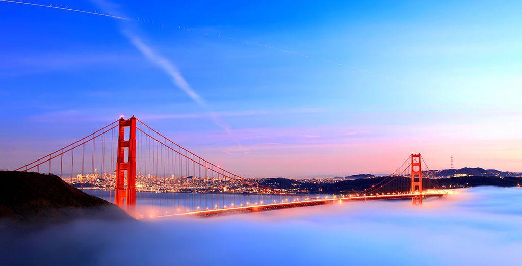 Visit wonderful San Francisco