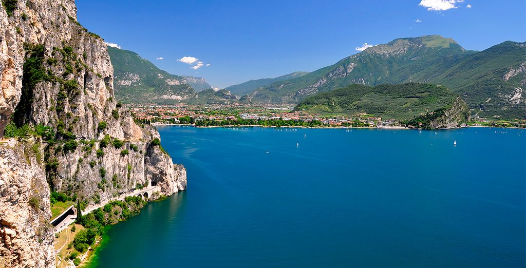 Discover Lake Garda, just a short walk away