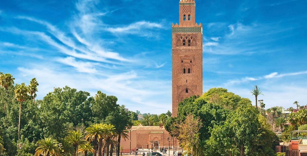 In exotic Marrakech