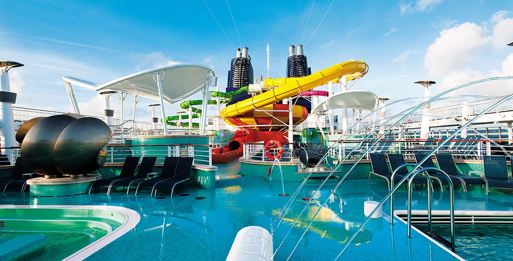Enjoy the many onboard activities