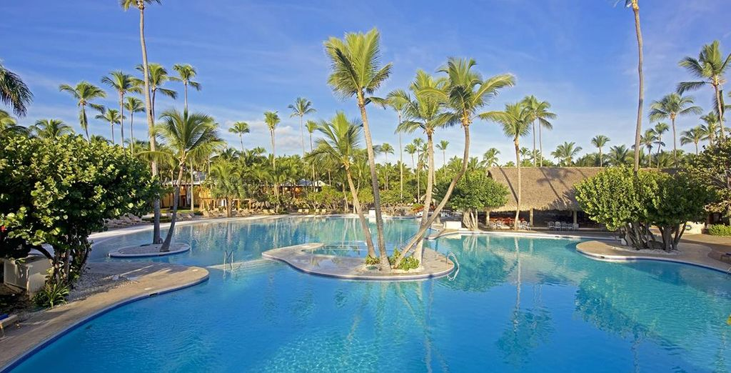 You will find the Iberostar Bavaro Suites