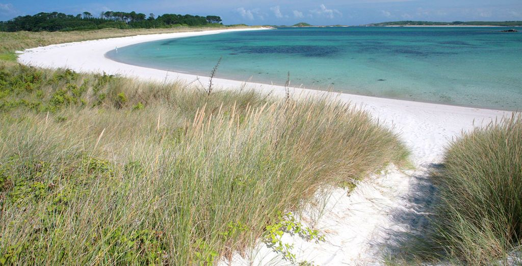 Beautiful unspoilt beaches - The New Inn 4* Tresco, Isles of Scilly