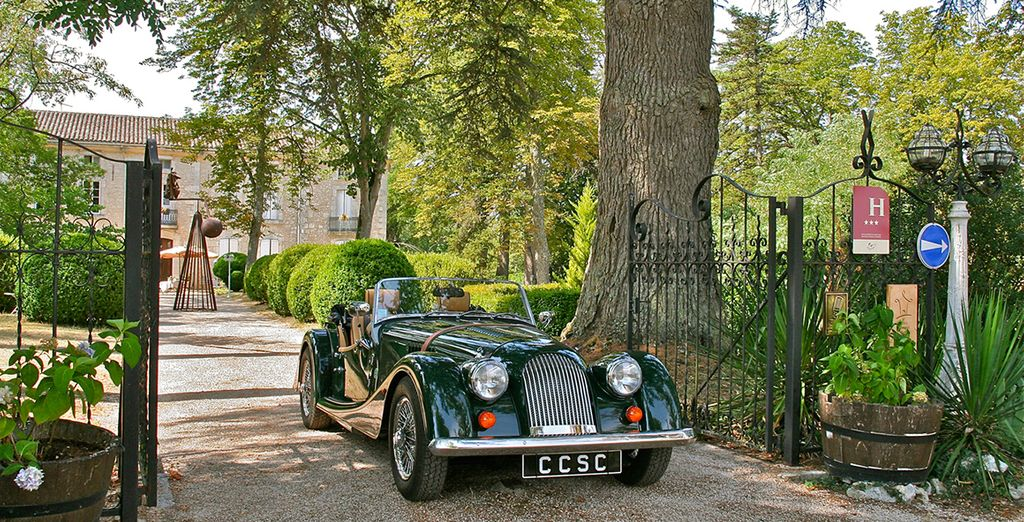 Grab your chance to experience the French countryside in a Morgan