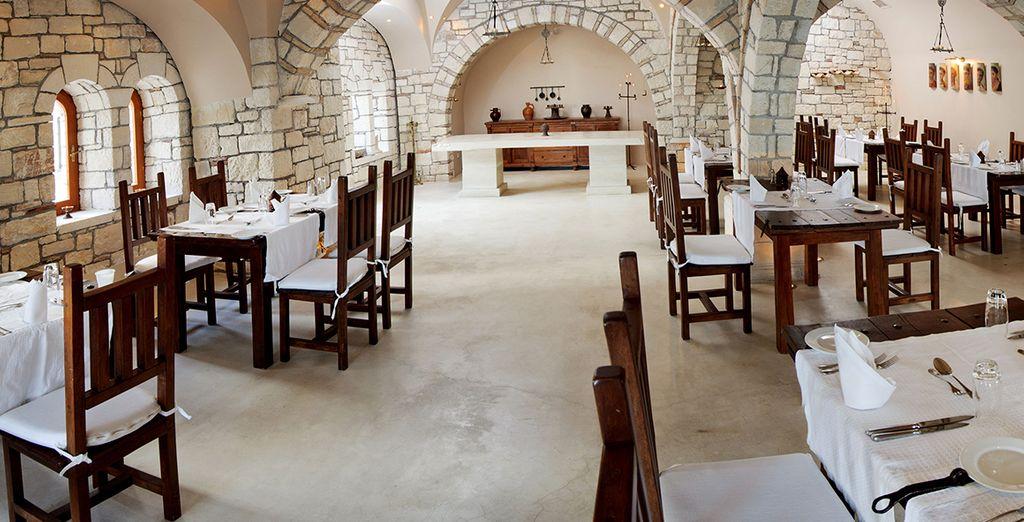 Tuck into Cretan specialties