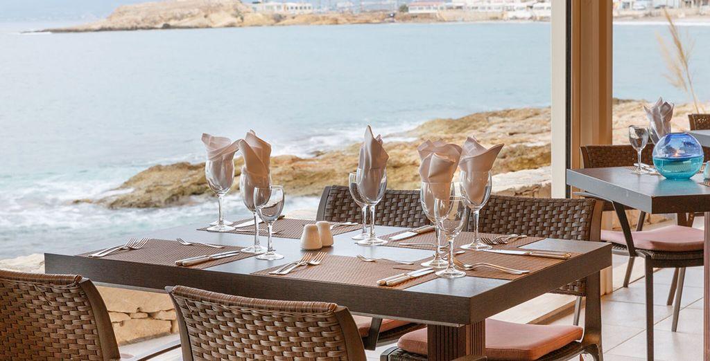 Dine at Cochlias Restaurant