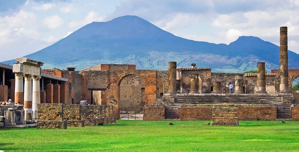 Or take a daytrip to historic Pompeii