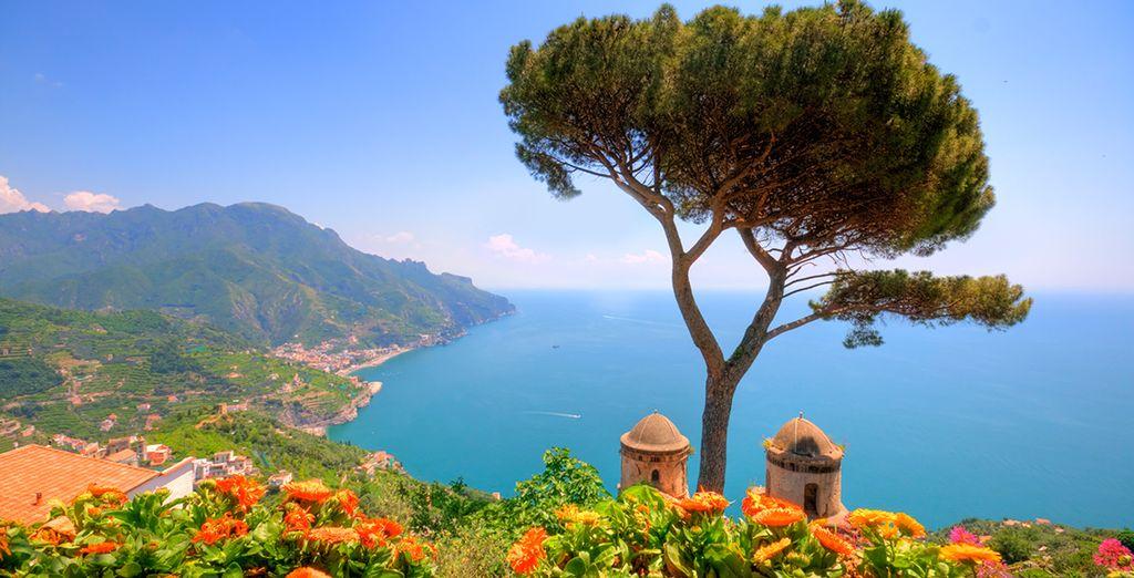 Or explore the UNESCO listed Amalfi coast