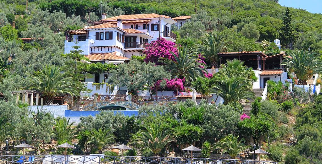 Nestled on the Pelion Peninsula