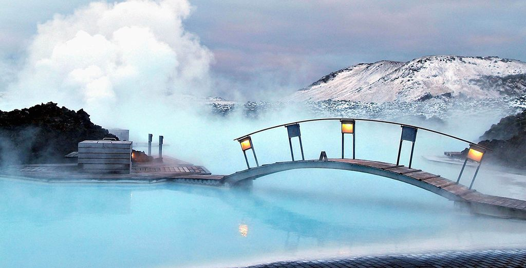 ... And the geothermal waters of the Blue Lagoon