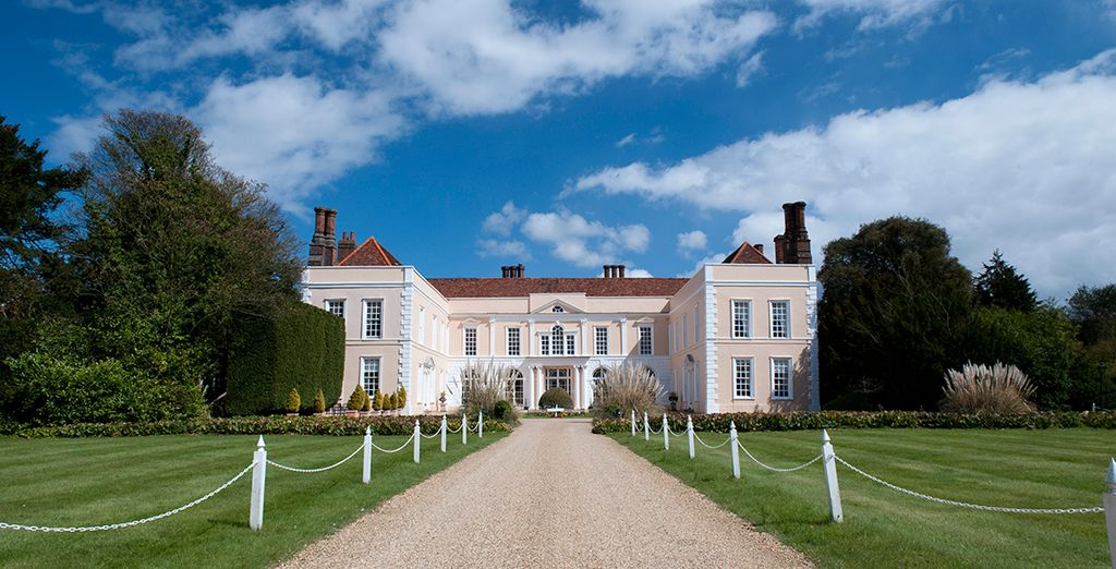 Set off for the Suffolk countryside, to the 4* Hintlesham Hall