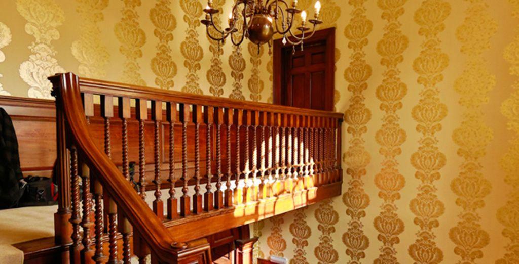 Roam through the gilded interior's of this grade I listed building
