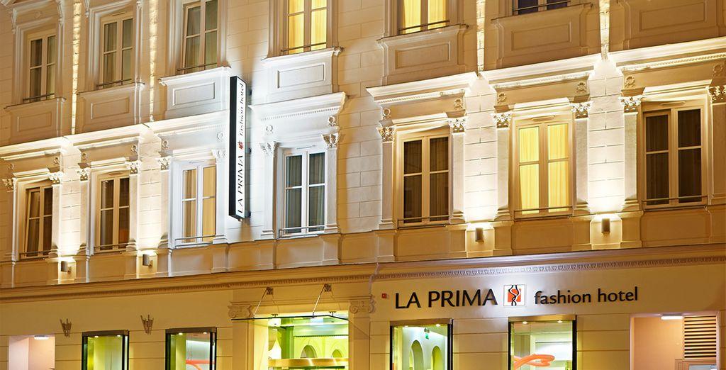 At the 4* La Prima Fashion