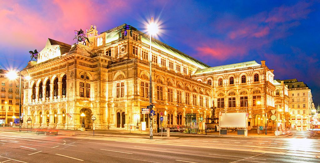 Visit the Vienna State Opera where you can hear some of the world's finest pieces