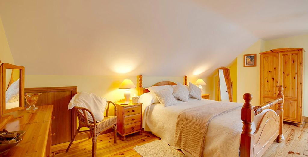 So you can be assured of a restful night after your exciting adventures! (Woodlands Galway pictured)