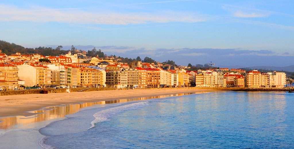 In the exclusive beach town of Sanxenxo, in Spain's Galicia