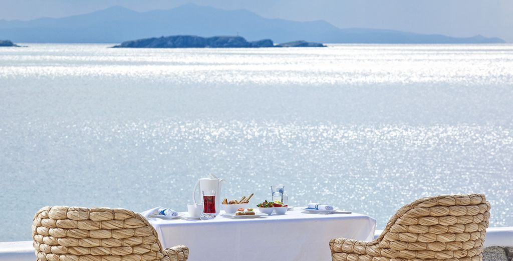 And a breathtaking sea view from your balcony