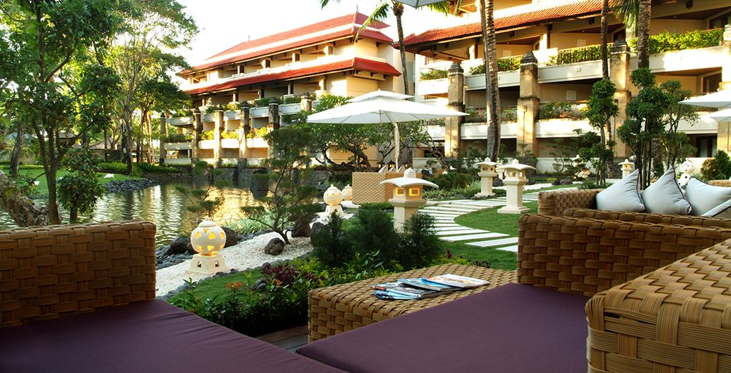 Welcome to the 5-star Intercontinental Bali