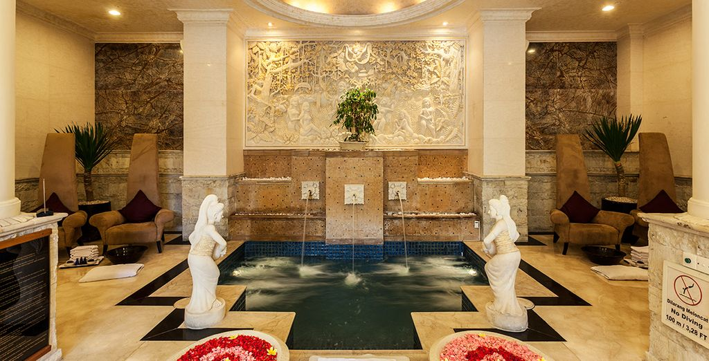 Indulge in a spa treatment - you have a 20% discount