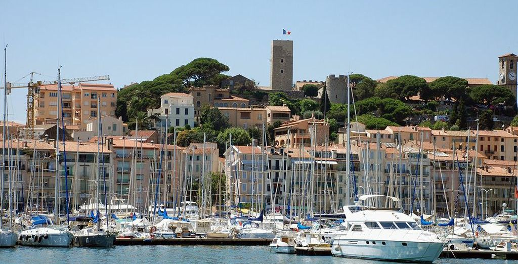 The laid back yet glamorous charm of Cannes is sure to seduce you