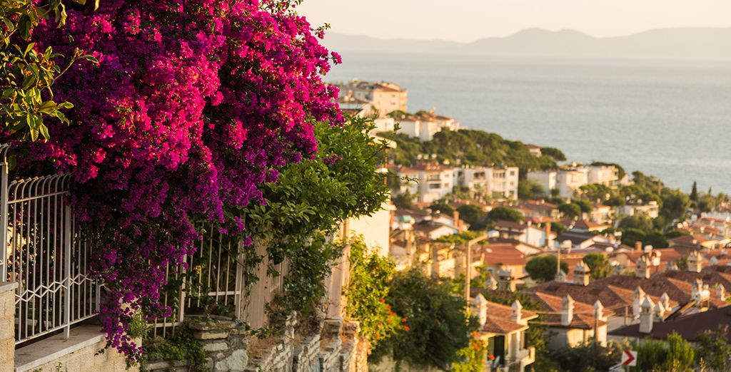 You're just 20 minutes from pretty Bodrum!