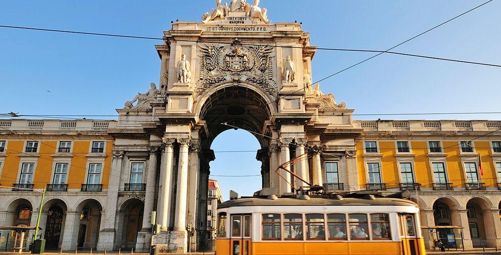 In cosmopolitan Lisbon