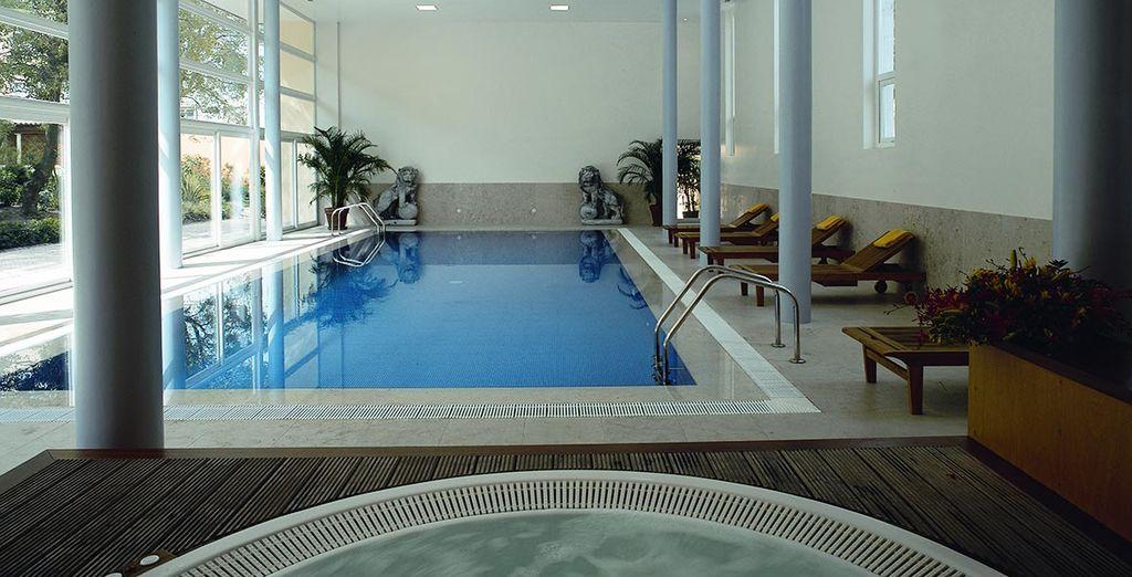 Unwind in the indoor pool